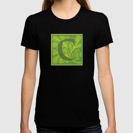 Ornate Initials Five - C T-shirt