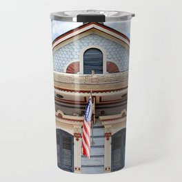 New Orleans American Creole Cottage Travel Mug