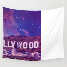 Hipsterland - Los Angeles Wall Tapestry