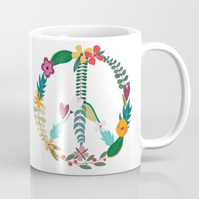 Fl Peace Sign Coffee Mug