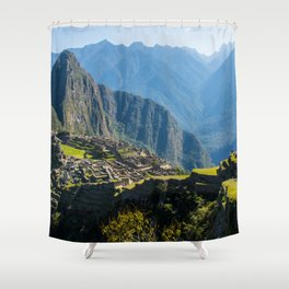 Machu Picchu Part 2 Shower Curtain