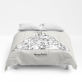 Meowtain Comforters