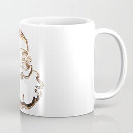 Santa Claus Funny Cute Father Christmas Elegant Faux Gold Coffee Mug