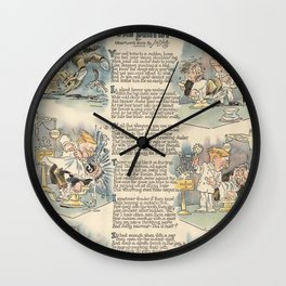The Dentist 1919 full page news paper cartoon Wall Clock