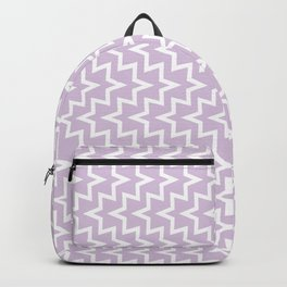 Sea Urchin - Light Purple & White #922 Backpack