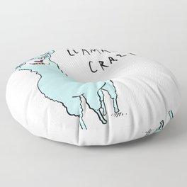 Llamacorn Crazy Floor Pillow