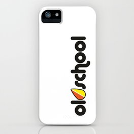 OLDSCHOOL v2 HQvector iPhone Case