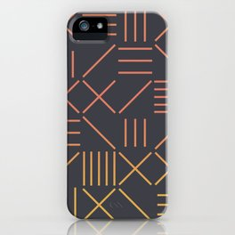 Geometric Shapes 09 Gradient iPhone Case