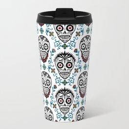 Sugar Skull Voodoo  Travel Mug