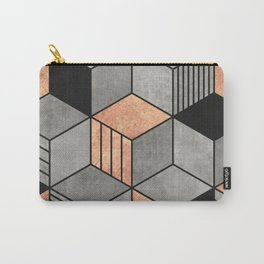 Concrete and Copper Cubes 2 Carry-All Pouch