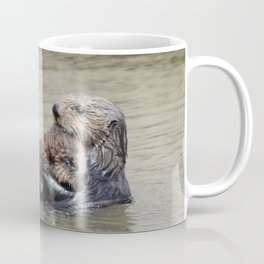 sea otter hug Coffee Mug