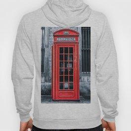 London - Telephone booth alone Hoody