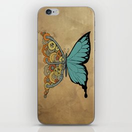 Steampunk Butterfly iPhone Skin