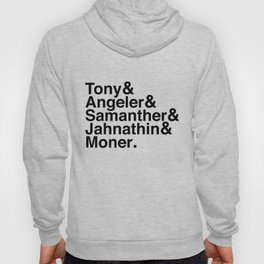 """""""Who's The Boss?"""" Ampersand T-Shirt (Black Font) Hoody"""