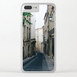 Montpellier I Clear iPhone Case