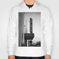 theater Hoodies featuring Palace Theater by Teran Jones