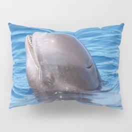 Cute wild pilot whale baby Pillow Sham