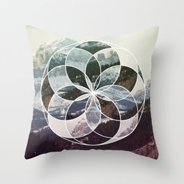 Crowsnest Throw Pillow