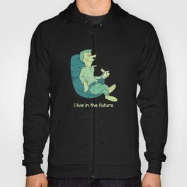 I live in the future - The Jetsons revival Hoody