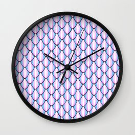 Trans Armor Wall Clock