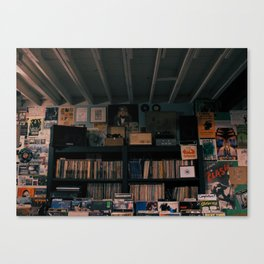 Wall of Fame Canvas Print
