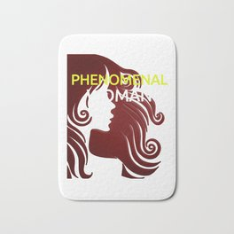 Phenomenal Woman Bath Mat