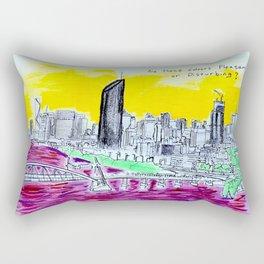 BRISBANE POSTCARD SERIES 006 Rectangular Pillow