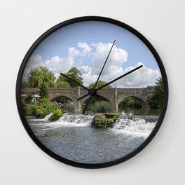 Bathampton bridge Wall Clock