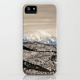 Glenwood Springs Park View iPhone Case