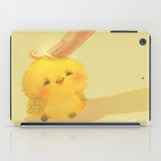 Scritch, a little yellow bird iPad Case