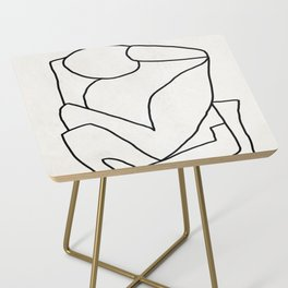 Abstract line art 2 Side Table