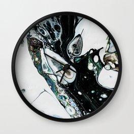 Abstract Melt IX Wall Clock