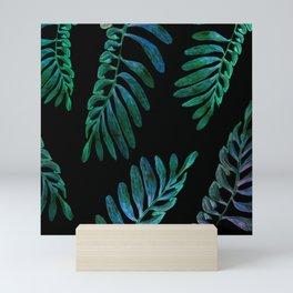 laves in the dark Mini Art Print