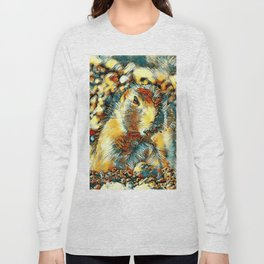AnimalArt_Prairiedog_20170902_by_JAMColors Long Sleeve T-shirt