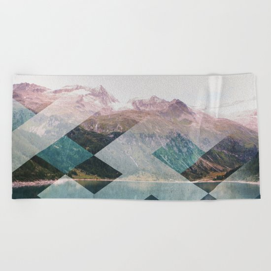 When Winter Comes II Beach Towel