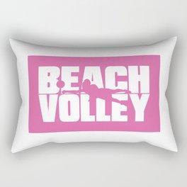 Beach volley Rectangular Pillow