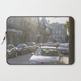 Montreal's Plateau Mont-Royal, one summer afternoon Laptop Sleeve