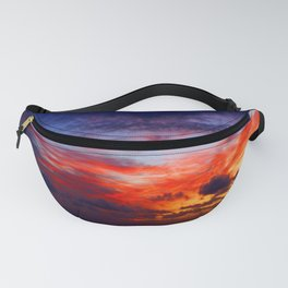 Painting On Glass By LadyShalene Fanny Pack