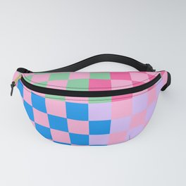 Checker Multi Pink  Fanny Pack