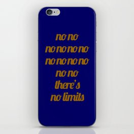 No limit - A Tribute to 2 Unlimited iPhone Skin