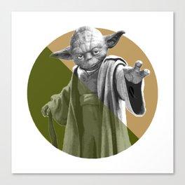 Yoda He Is Canvas Print