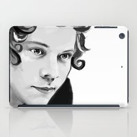 harry iPad Cases featuring Harry by GirlApe