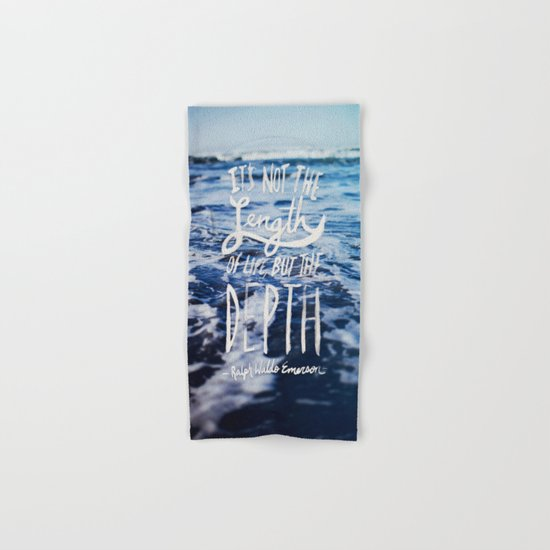 Depth x Ocean Hand & Bath Towel