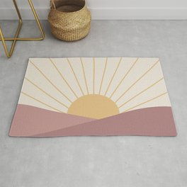 Morning Light - Pink Rug