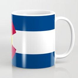 Colorado State Flag Kaffeebecher