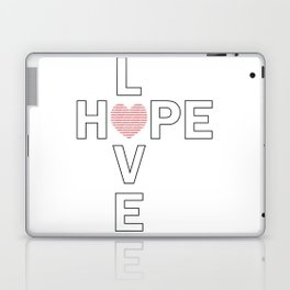Hope and Love intersect Laptop & iPad Skin