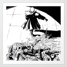 WRATH OF GOD - Digging up the corpses Art Print