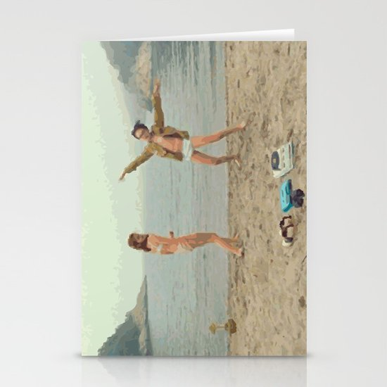 Moonrise Kingdom Dance Stationery Cards