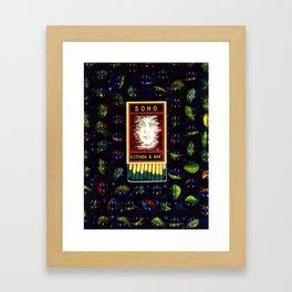 Soho Kitchen Framed Art Print