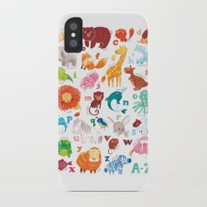 Animalphabet Slim Case iPhone X
